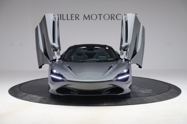 New 2020 McLaren 720S Spider Convertible for sale $332,570 at Rolls-Royce Motor Cars Greenwich in Greenwich CT 06830 9