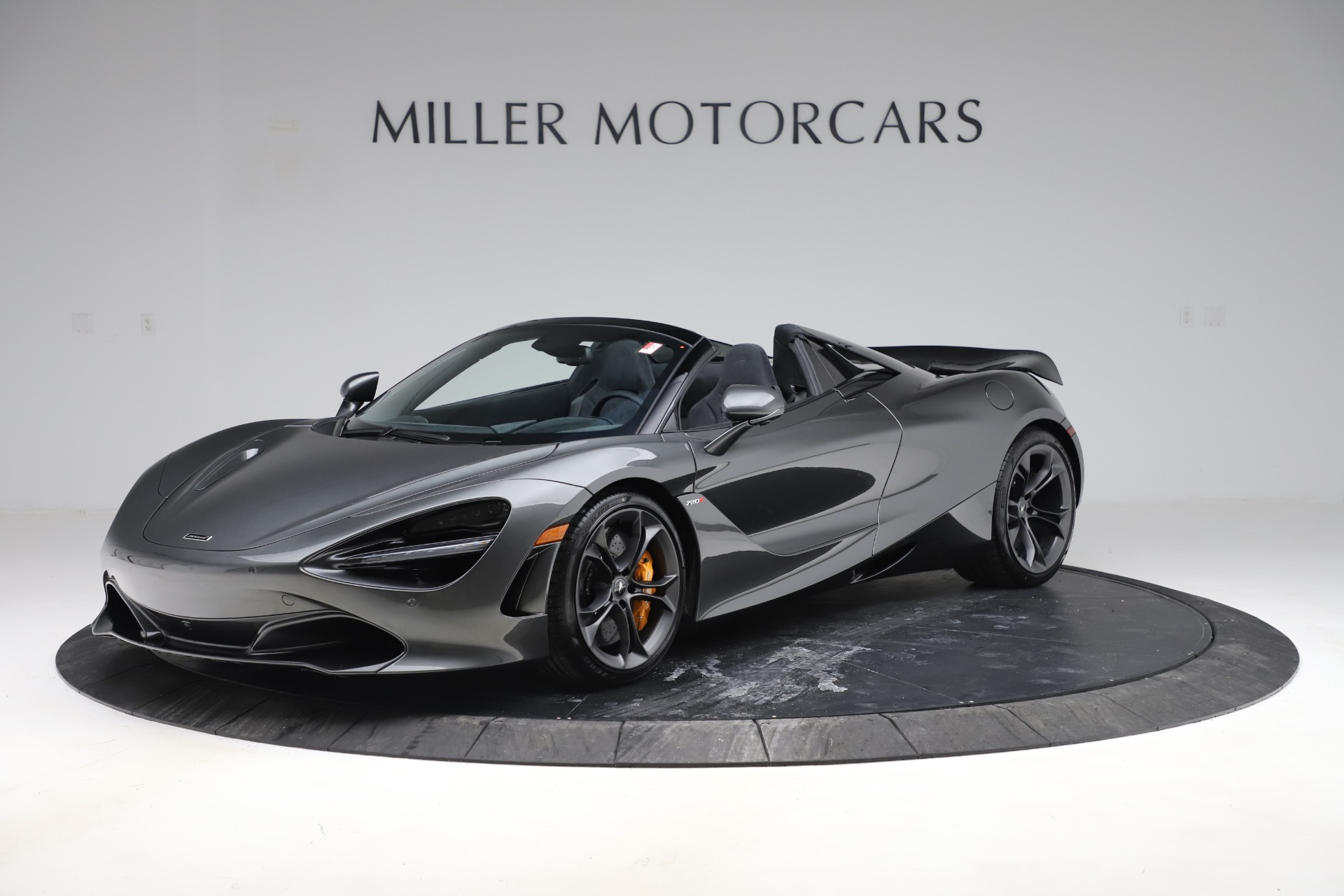 New 2020 McLaren 720S Spider Convertible for sale $332,570 at Rolls-Royce Motor Cars Greenwich in Greenwich CT 06830 1
