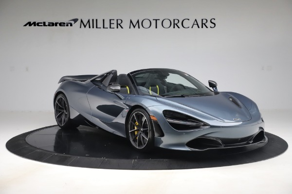 Used 2020 McLaren 720S Spider Convertible for sale Call for price at Rolls-Royce Motor Cars Greenwich in Greenwich CT 06830 11