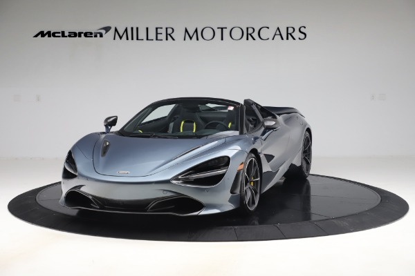 Used 2020 McLaren 720S Spider Convertible for sale Call for price at Rolls-Royce Motor Cars Greenwich in Greenwich CT 06830 2