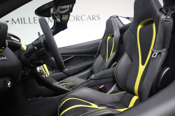 Used 2020 McLaren 720S Spider Convertible for sale Call for price at Rolls-Royce Motor Cars Greenwich in Greenwich CT 06830 20