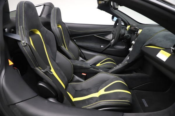 Used 2020 McLaren 720S Spider Convertible for sale Call for price at Rolls-Royce Motor Cars Greenwich in Greenwich CT 06830 25