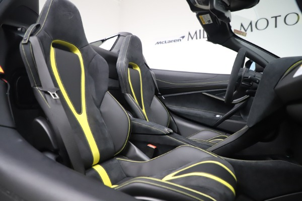Used 2020 McLaren 720S Spider Convertible for sale Call for price at Rolls-Royce Motor Cars Greenwich in Greenwich CT 06830 26