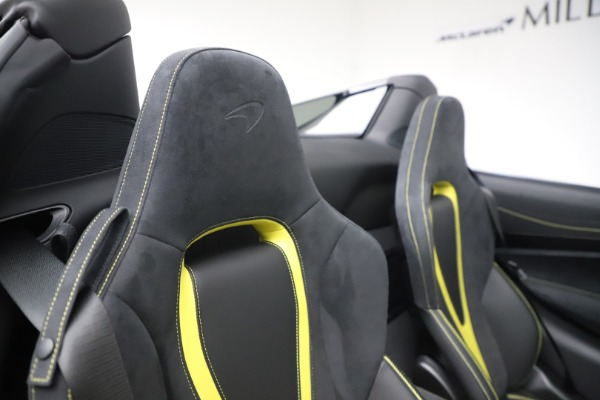 Used 2020 McLaren 720S Spider Convertible for sale Call for price at Rolls-Royce Motor Cars Greenwich in Greenwich CT 06830 27