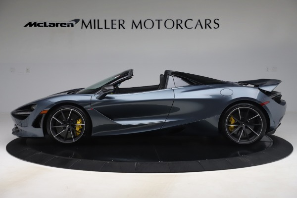 Used 2020 McLaren 720S Spider Convertible for sale Call for price at Rolls-Royce Motor Cars Greenwich in Greenwich CT 06830 3