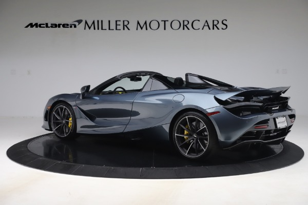 Used 2020 McLaren 720S Spider Convertible for sale Call for price at Rolls-Royce Motor Cars Greenwich in Greenwich CT 06830 4