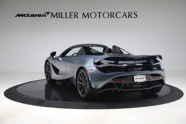 Used 2020 McLaren 720S Spider Convertible for sale Call for price at Rolls-Royce Motor Cars Greenwich in Greenwich CT 06830 5