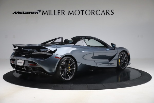 Used 2020 McLaren 720S Spider Convertible for sale Call for price at Rolls-Royce Motor Cars Greenwich in Greenwich CT 06830 8