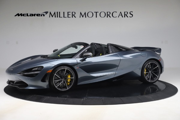 Used 2020 McLaren 720S Spider Convertible for sale Call for price at Rolls-Royce Motor Cars Greenwich in Greenwich CT 06830 1