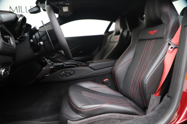 New 2020 Aston Martin Vantage Coupe for sale $195,459 at Rolls-Royce Motor Cars Greenwich in Greenwich CT 06830 14