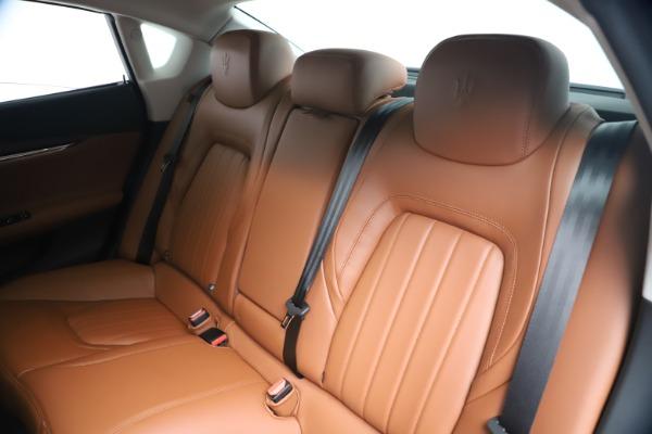 New 2019 Maserati Quattroporte S Q4 for sale $121,065 at Rolls-Royce Motor Cars Greenwich in Greenwich CT 06830 17
