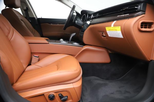 New 2019 Maserati Quattroporte S Q4 for sale $121,065 at Rolls-Royce Motor Cars Greenwich in Greenwich CT 06830 23
