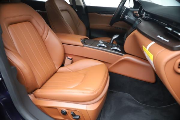 New 2019 Maserati Quattroporte S Q4 for sale $121,065 at Rolls-Royce Motor Cars Greenwich in Greenwich CT 06830 24
