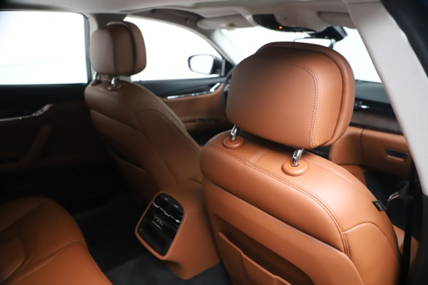 New 2019 Maserati Quattroporte S Q4 for sale $121,065 at Rolls-Royce Motor Cars Greenwich in Greenwich CT 06830 28