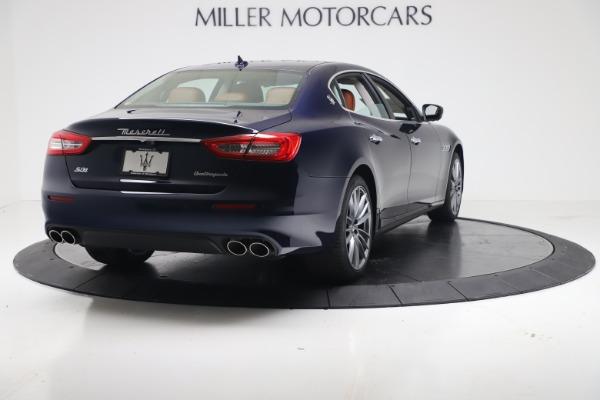 New 2019 Maserati Quattroporte S Q4 for sale $121,065 at Rolls-Royce Motor Cars Greenwich in Greenwich CT 06830 7