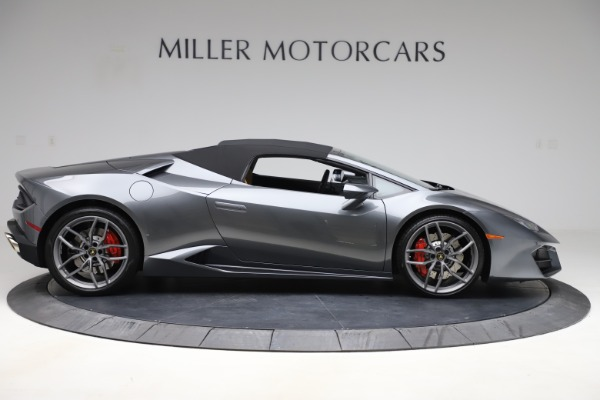 Used 2018 Lamborghini Huracan LP 580-2 Spyder for sale Call for price at Rolls-Royce Motor Cars Greenwich in Greenwich CT 06830 15