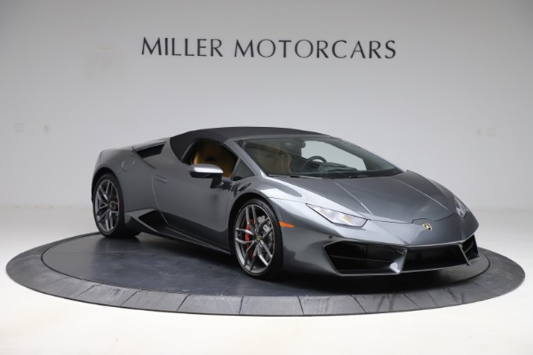 Used 2018 Lamborghini Huracan LP 580-2 Spyder for sale Call for price at Rolls-Royce Motor Cars Greenwich in Greenwich CT 06830 16
