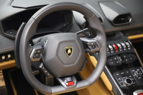 Used 2018 Lamborghini Huracan LP 580-2 Spyder for sale Call for price at Rolls-Royce Motor Cars Greenwich in Greenwich CT 06830 26