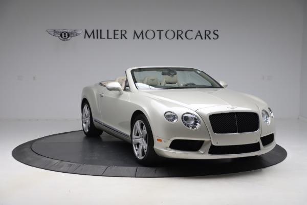 Used 2015 Bentley Continental GTC V8 for sale Sold at Rolls-Royce Motor Cars Greenwich in Greenwich CT 06830 12