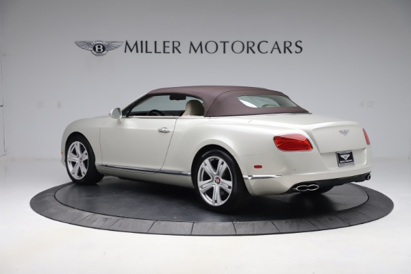 Used 2015 Bentley Continental GTC V8 for sale Sold at Rolls-Royce Motor Cars Greenwich in Greenwich CT 06830 16