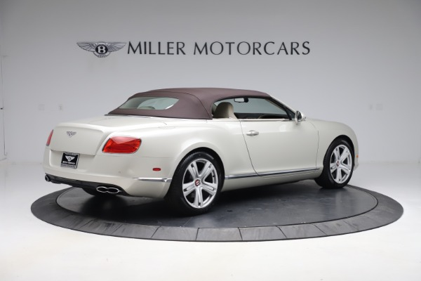 Used 2015 Bentley Continental GTC V8 for sale Sold at Rolls-Royce Motor Cars Greenwich in Greenwich CT 06830 17
