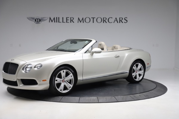 Used 2015 Bentley Continental GTC V8 for sale Sold at Rolls-Royce Motor Cars Greenwich in Greenwich CT 06830 2