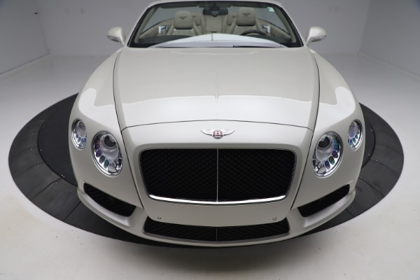 Used 2015 Bentley Continental GTC V8 for sale Sold at Rolls-Royce Motor Cars Greenwich in Greenwich CT 06830 20
