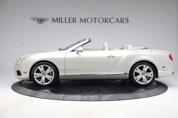 Used 2015 Bentley Continental GTC V8 for sale Sold at Rolls-Royce Motor Cars Greenwich in Greenwich CT 06830 3