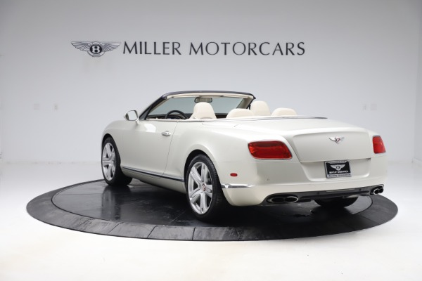 Used 2015 Bentley Continental GTC V8 for sale Sold at Rolls-Royce Motor Cars Greenwich in Greenwich CT 06830 4