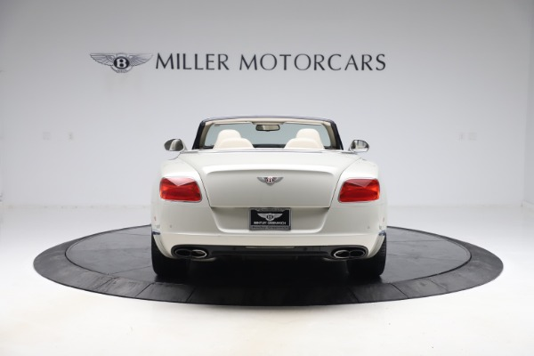 Used 2015 Bentley Continental GTC V8 for sale Sold at Rolls-Royce Motor Cars Greenwich in Greenwich CT 06830 6