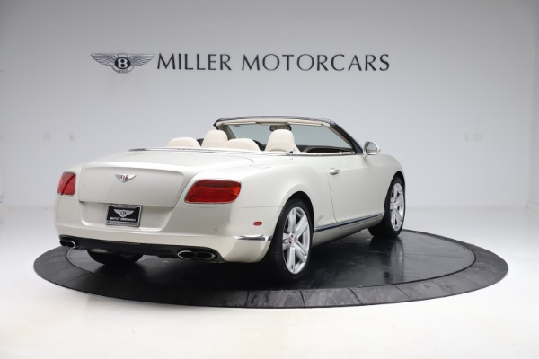 Used 2015 Bentley Continental GTC V8 for sale Sold at Rolls-Royce Motor Cars Greenwich in Greenwich CT 06830 7