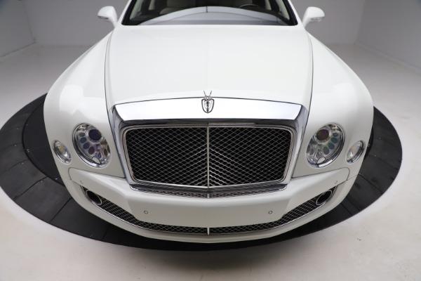 Used 2016 Bentley Mulsanne for sale $145,900 at Rolls-Royce Motor Cars Greenwich in Greenwich CT 06830 13