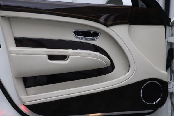 Used 2016 Bentley Mulsanne for sale $145,900 at Rolls-Royce Motor Cars Greenwich in Greenwich CT 06830 16