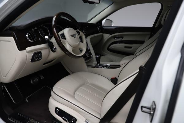Used 2016 Bentley Mulsanne for sale $145,900 at Rolls-Royce Motor Cars Greenwich in Greenwich CT 06830 17