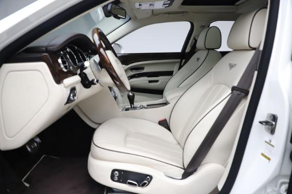 Used 2016 Bentley Mulsanne for sale $145,900 at Rolls-Royce Motor Cars Greenwich in Greenwich CT 06830 18