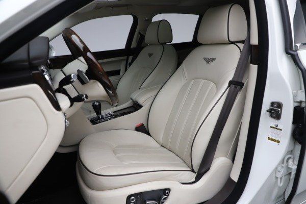 Used 2016 Bentley Mulsanne for sale $145,900 at Rolls-Royce Motor Cars Greenwich in Greenwich CT 06830 19