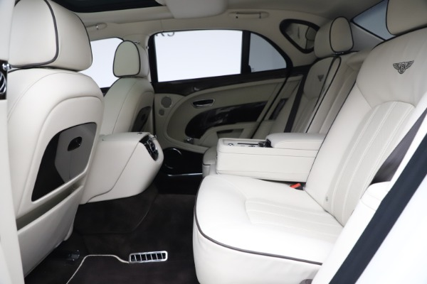 Used 2016 Bentley Mulsanne for sale $145,900 at Rolls-Royce Motor Cars Greenwich in Greenwich CT 06830 22