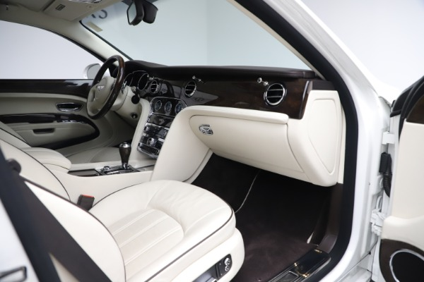 Used 2016 Bentley Mulsanne for sale $145,900 at Rolls-Royce Motor Cars Greenwich in Greenwich CT 06830 26