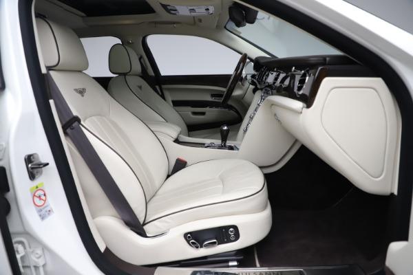 Used 2016 Bentley Mulsanne for sale $145,900 at Rolls-Royce Motor Cars Greenwich in Greenwich CT 06830 27