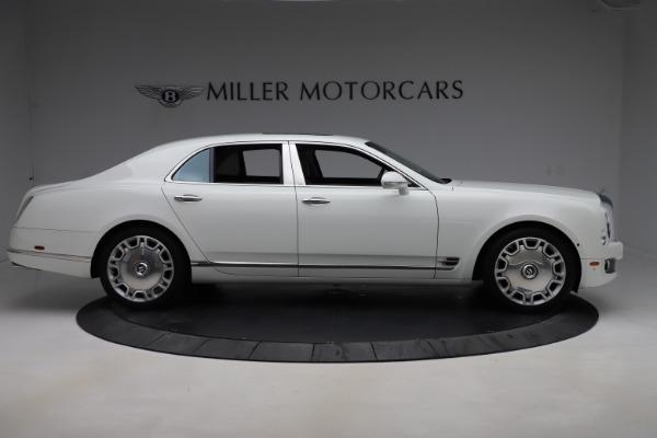 Used 2016 Bentley Mulsanne for sale $145,900 at Rolls-Royce Motor Cars Greenwich in Greenwich CT 06830 9