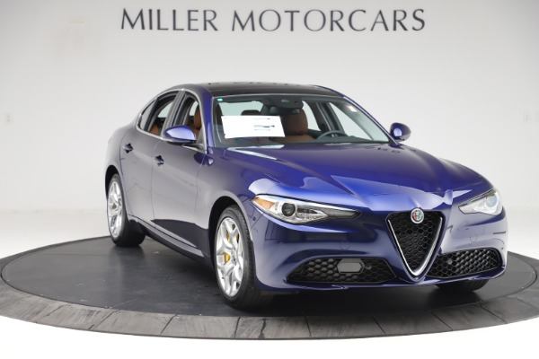 New 2020 Alfa Romeo Giulia Ti Q4 for sale $47,940 at Rolls-Royce Motor Cars Greenwich in Greenwich CT 06830 11