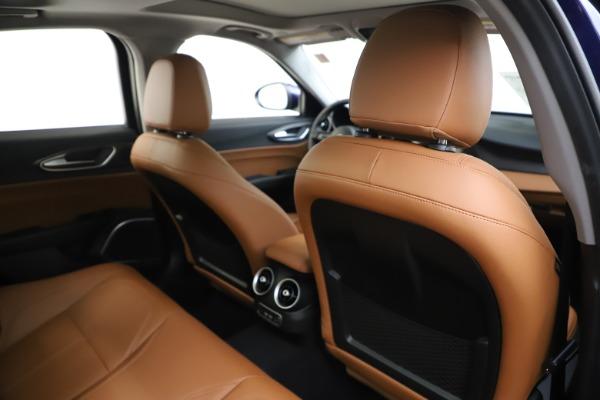 New 2020 Alfa Romeo Giulia Ti Q4 for sale Sold at Rolls-Royce Motor Cars Greenwich in Greenwich CT 06830 27