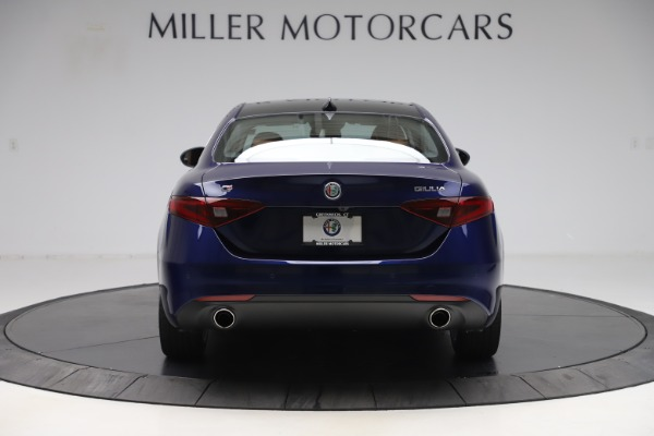 New 2020 Alfa Romeo Giulia Ti Q4 for sale Sold at Rolls-Royce Motor Cars Greenwich in Greenwich CT 06830 6