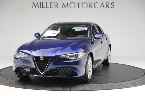 New 2020 Alfa Romeo Giulia Ti Q4 for sale $47,940 at Rolls-Royce Motor Cars Greenwich in Greenwich CT 06830 1
