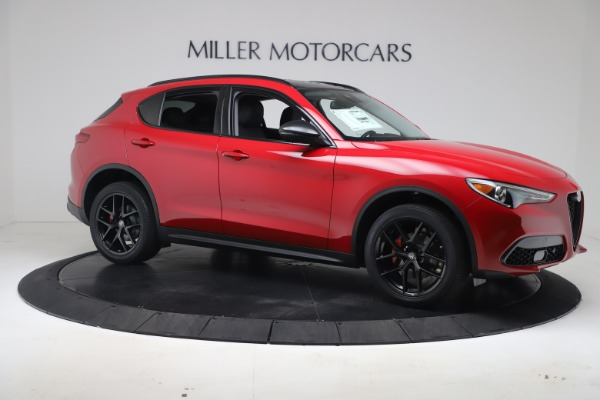 New 2020 Alfa Romeo Stelvio Q4 for sale $49,240 at Rolls-Royce Motor Cars Greenwich in Greenwich CT 06830 10