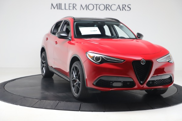 New 2020 Alfa Romeo Stelvio Q4 for sale $49,240 at Rolls-Royce Motor Cars Greenwich in Greenwich CT 06830 11