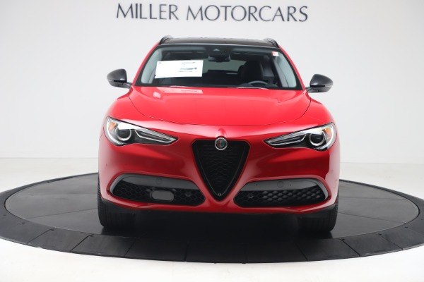 New 2020 Alfa Romeo Stelvio Q4 for sale $49,240 at Rolls-Royce Motor Cars Greenwich in Greenwich CT 06830 12
