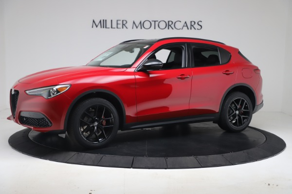 New 2020 Alfa Romeo Stelvio Q4 for sale $49,240 at Rolls-Royce Motor Cars Greenwich in Greenwich CT 06830 2