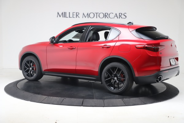New 2020 Alfa Romeo Stelvio Q4 for sale $49,240 at Rolls-Royce Motor Cars Greenwich in Greenwich CT 06830 4