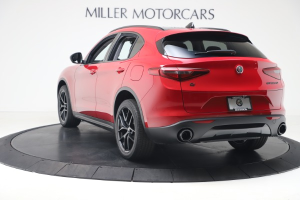 New 2020 Alfa Romeo Stelvio Q4 for sale $49,240 at Rolls-Royce Motor Cars Greenwich in Greenwich CT 06830 5